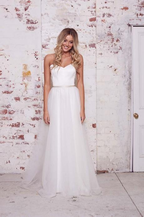 Karen Willis Holmes Style 688807 Overlay skirt