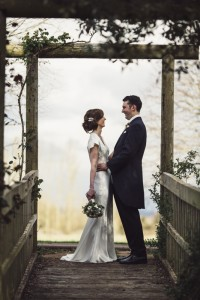 Kirsty & Paul - she wore a David Fielden Gown