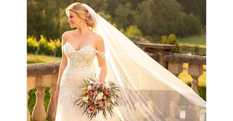 Wedding dress design by Essense of Australia