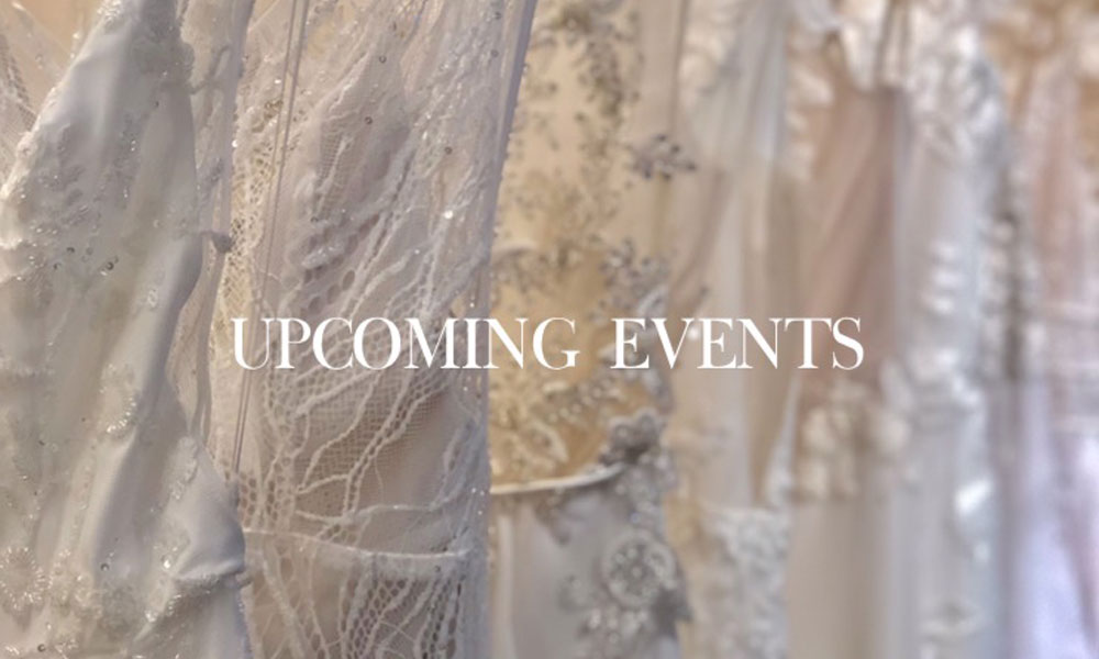 UPCOMING EVENTS – You can't miss!