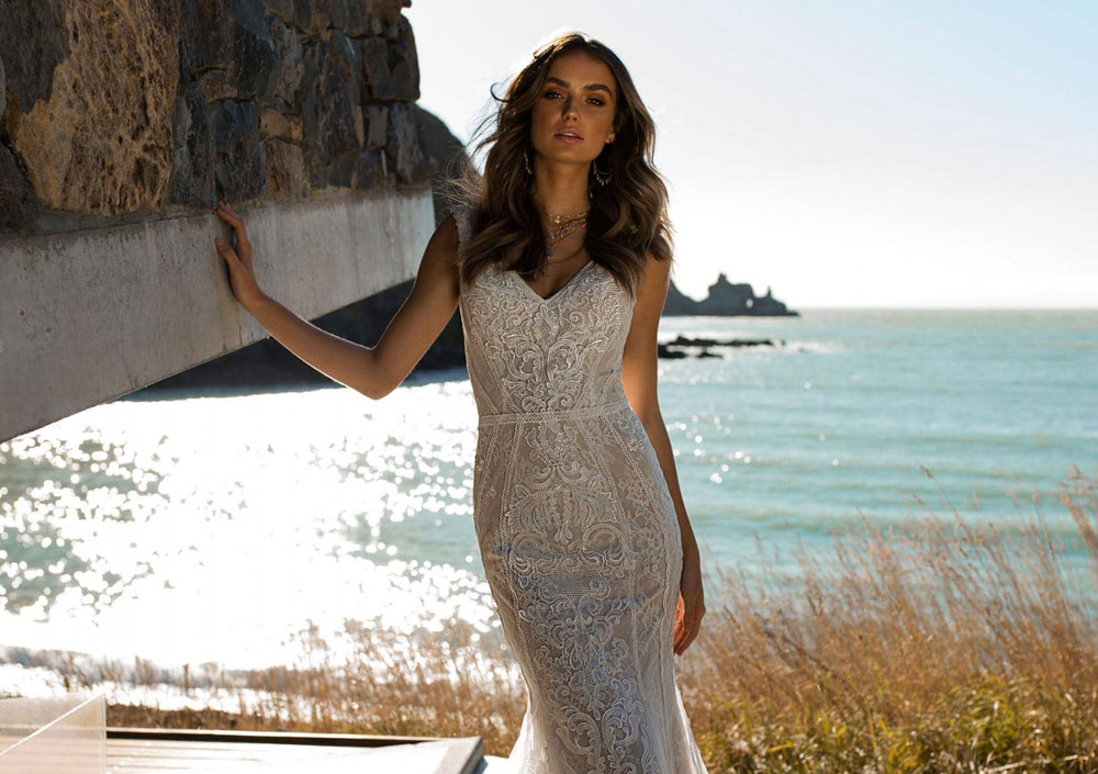 Wedding gown design by Australian bridal brand Madi Lane