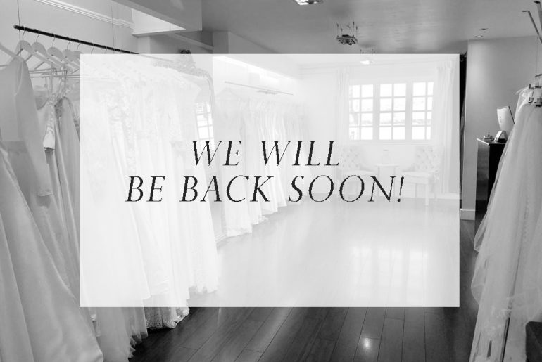We will be back soon!