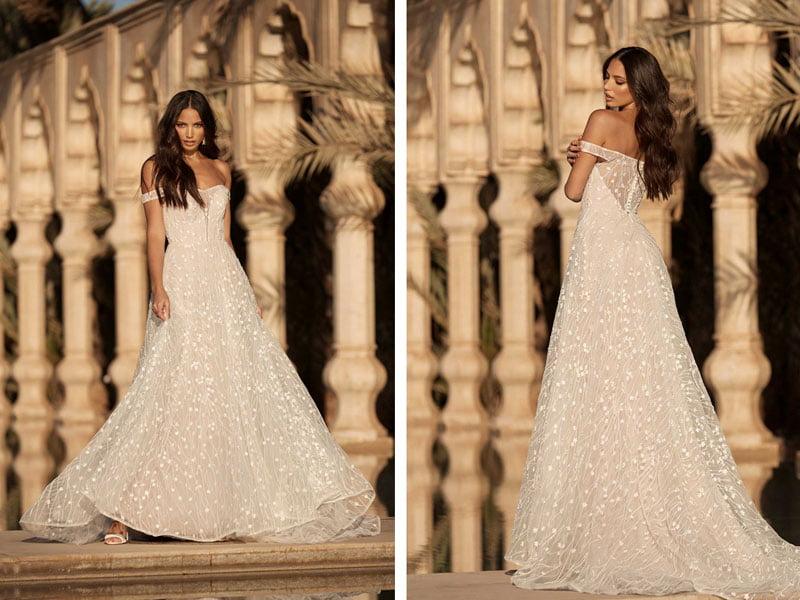 Alden style wedding dress