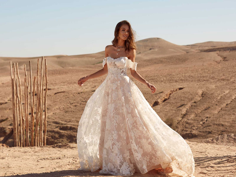 Amelie Style wedding dress