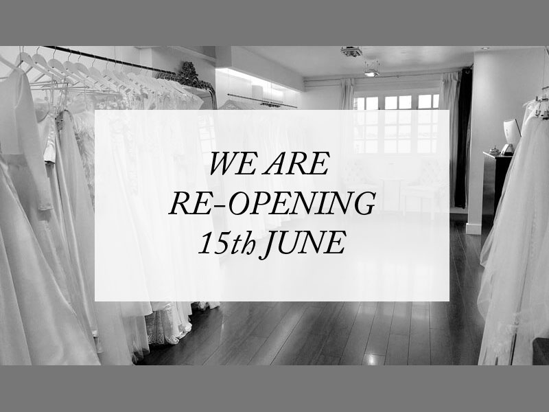 Store Opening 15th June 2020