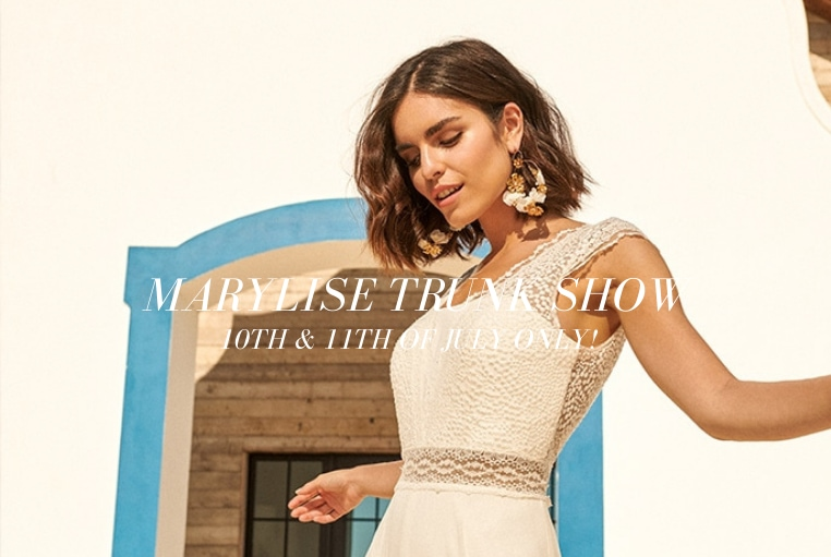 Marylise Gowns Trunk Show – Book Now!